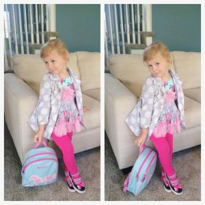 Avery school outfit