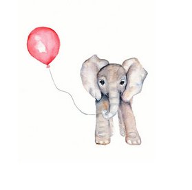 Advice Elephant Balloon