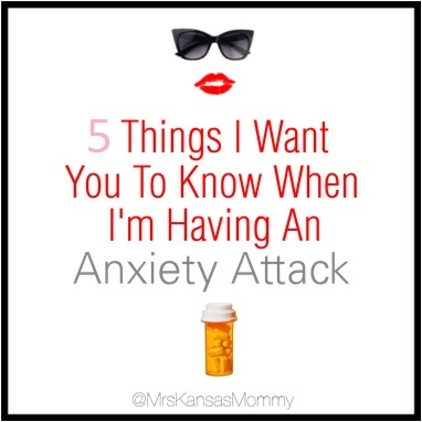 5 Things On Anxiety