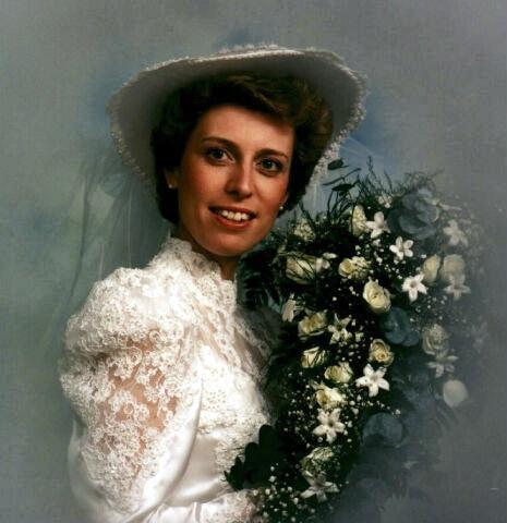 80s Bridal Hat