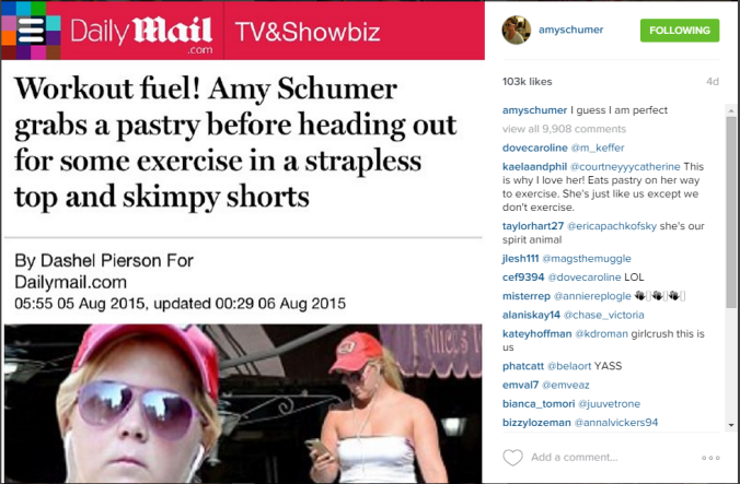 GIRLCRUSH Amy Schumer Instagram