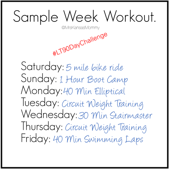 LT Workout Sample Week