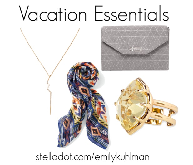 vacation essentials stelladot