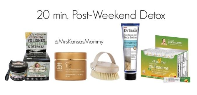 20 Minute Post Weekend Detox
