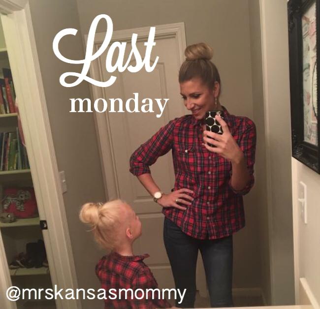Last Monday